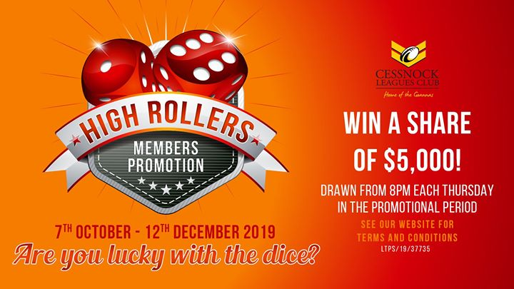 High Rollers Members Promotion