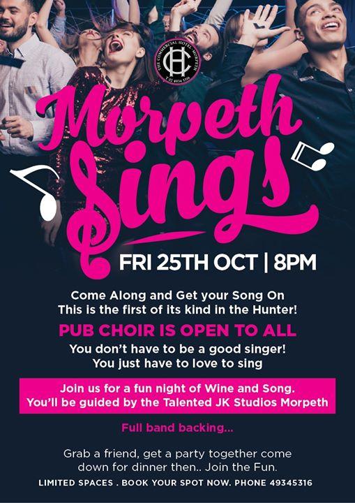 Morpeth Sings!