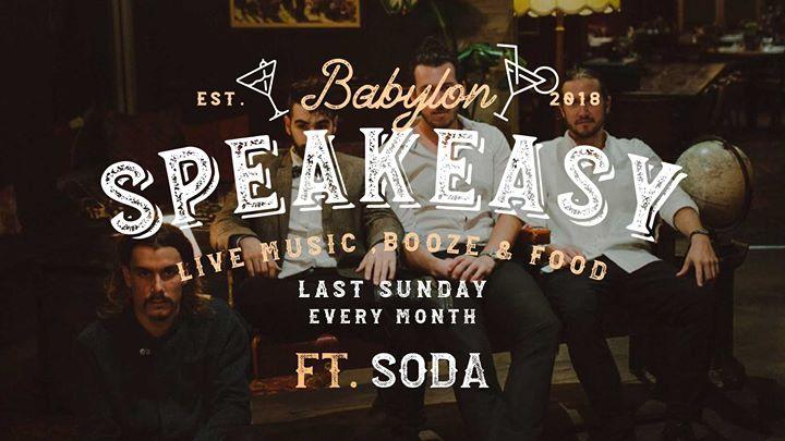 Speakeasy Sunday Ft. Soda Jazz Band