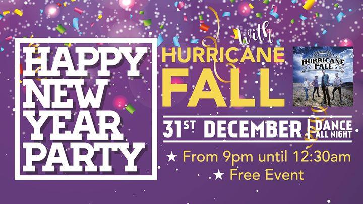New Years Eve – Hurricane Fall at Cardiff RSL