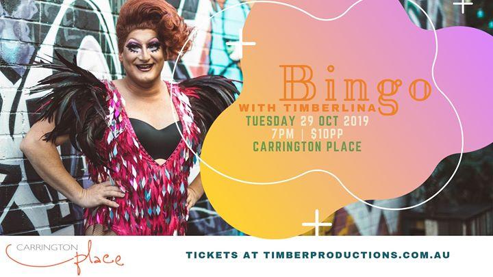 Bingo with Timberlina at Carrington Place