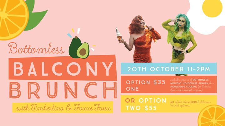 Bottomless Balcony Brunch with Foxxe Faux and Timberlina