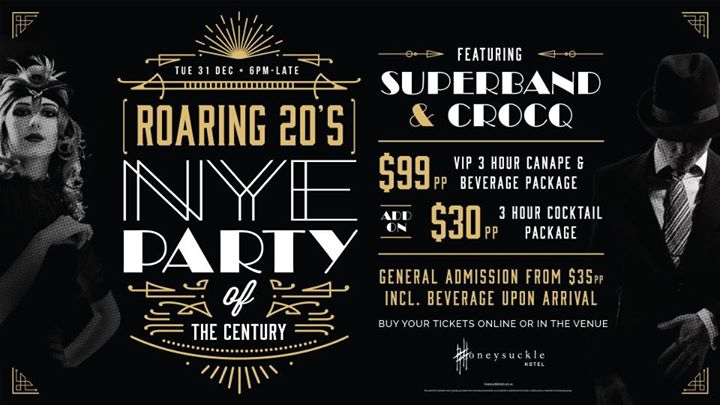 New Years Eve party of the century!