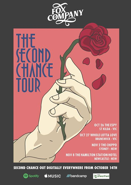 "Fox Company ""Second Chance"" single tour at The Hamilton Station"