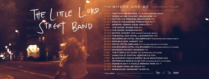The Little Lord Street Band at The Hamilton Station Hotel