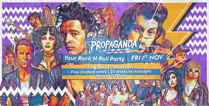 Propaganda [Street Level] • Fridays at King