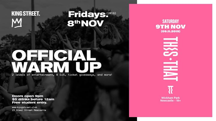 Official This That Warm Up Party • King Street