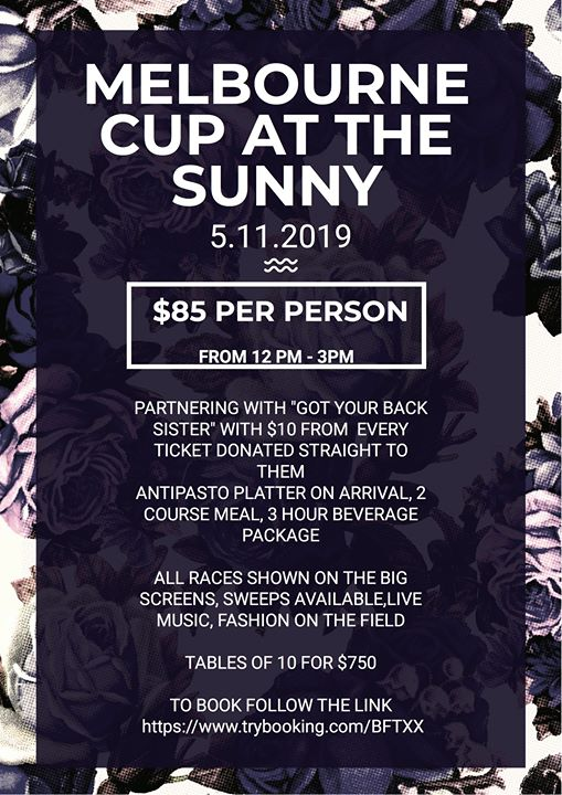 Melbourne Cup At The Sunnyside
