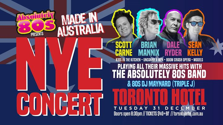 New Years Eve – Absolutely 80's – Toronto Hotel
