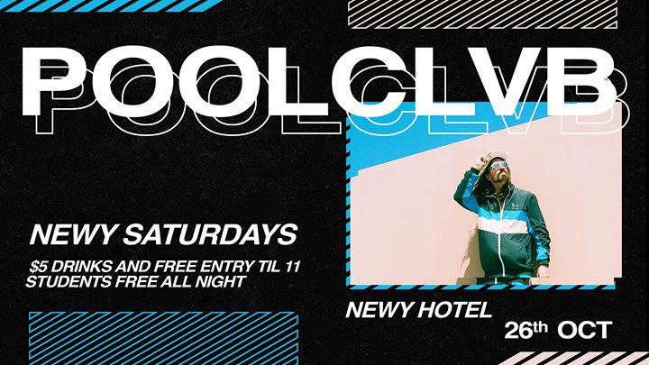 Poolclvb (Sweat it Out)   Newy Saturdays