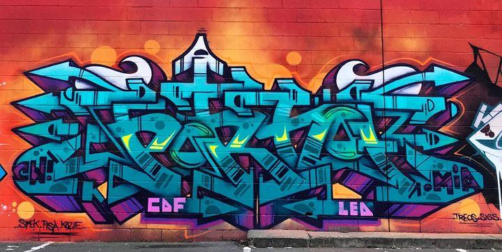 Hamilton Graffiti Art – Alleyway Jam