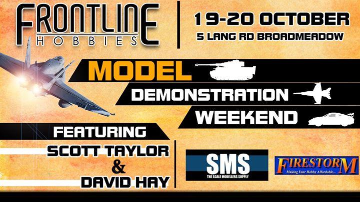 Model Demonstration Weekend | Frontline Hobbies