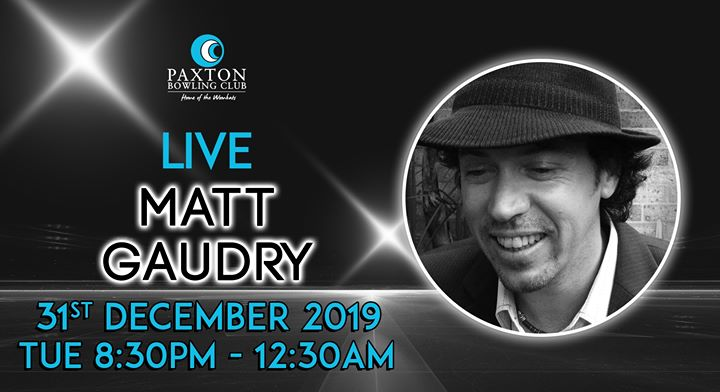 New Year's Eve with Matt Gaudry – LIVE