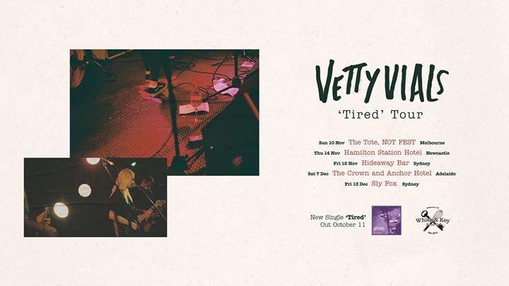 Vetty Vials & Ate Bit (USA) – Newcastle