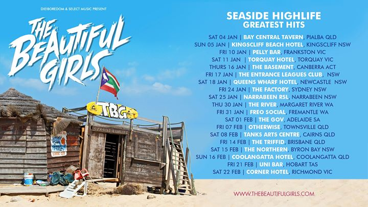 The Beautiful Girls 'The Seaside Highlife: Greatest Hits'