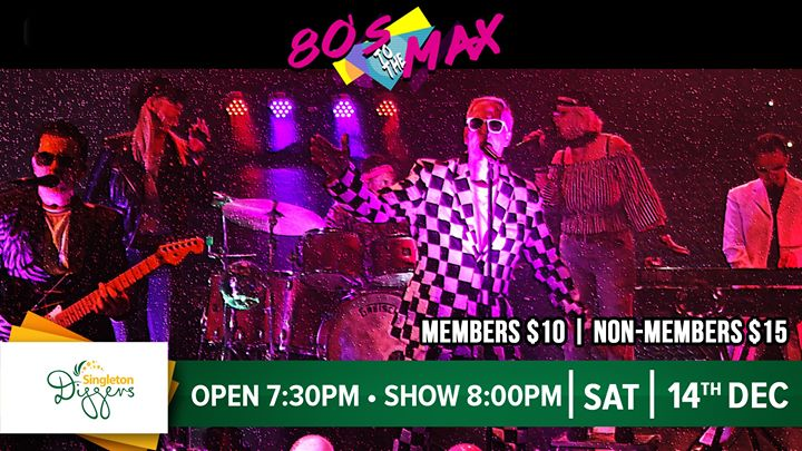 80s to the Max // Singleton Diggers – York Street