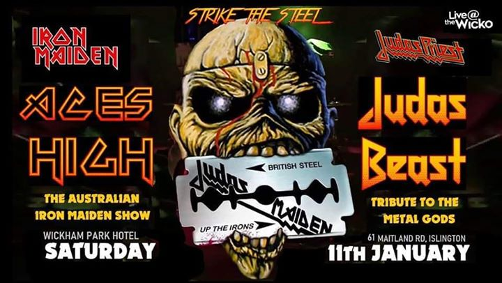 ACES HIGH / JUDAS BEAST live at The Wicko