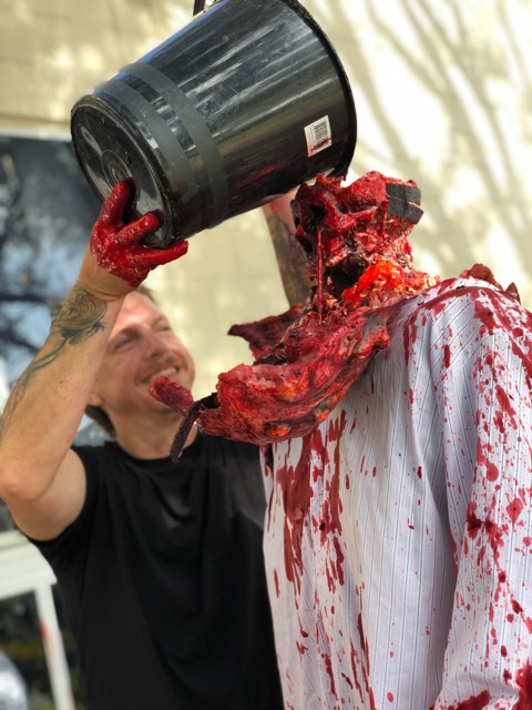 Bloodworks: Special Effects Workshop with Chad Atkinson.