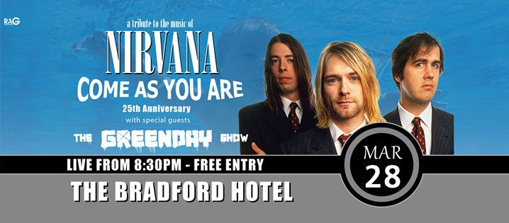Nirvana and Green Day Show at the Bradford Hotel