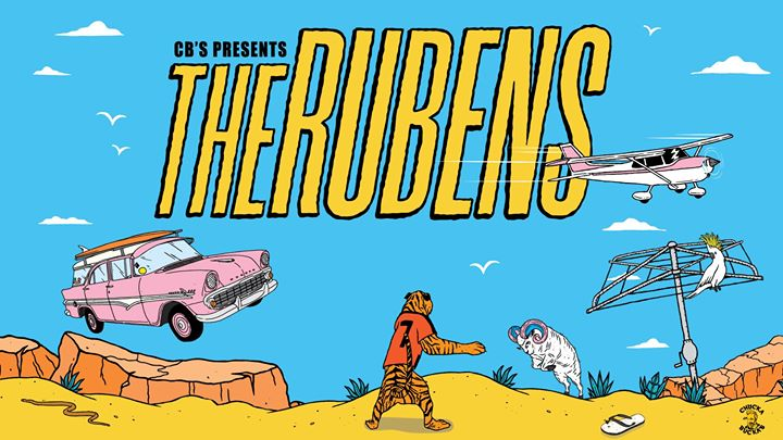 The Rubens – Chucka Bucka's Summer Regional Tour – Shoal Bay
