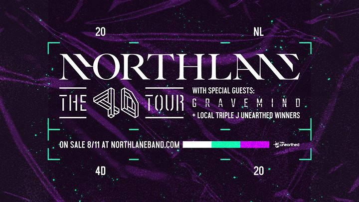 Northlane 4D Regional Tour – Newcastle