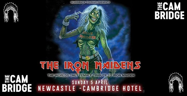The Iron Maidens – live at The Cambridge Hotel