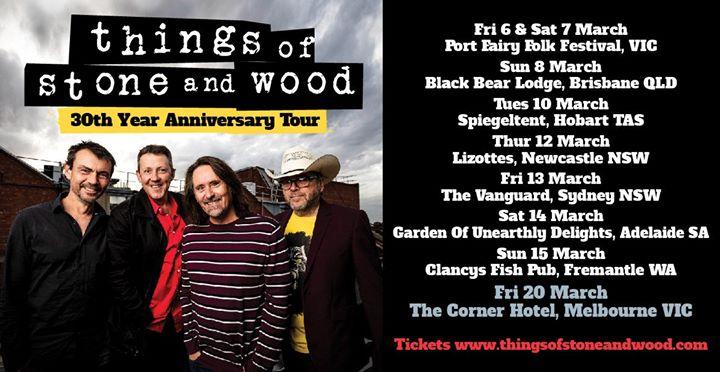 30 Year Anniversary Tour