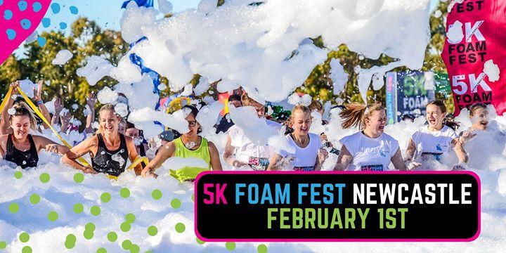 The 5K Foam Fest – Newcastle