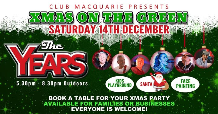 The Years at Club Macquarie