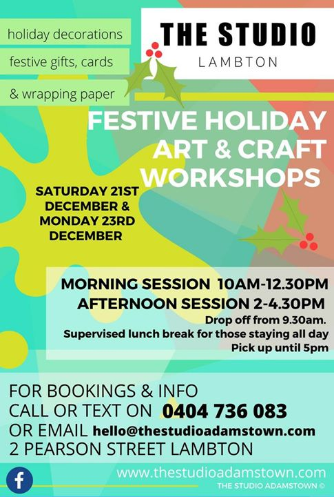 Children's Festive Art & Craft Workshops