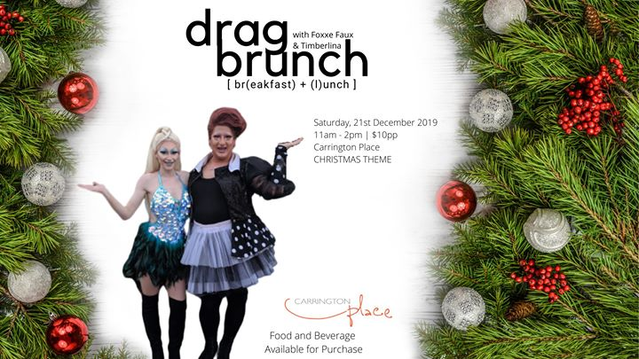 Christmas Drag Brunch – Carrington Place