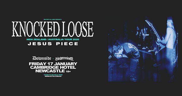 Knocked Loose with Jesus Piece – Newcastle 18+