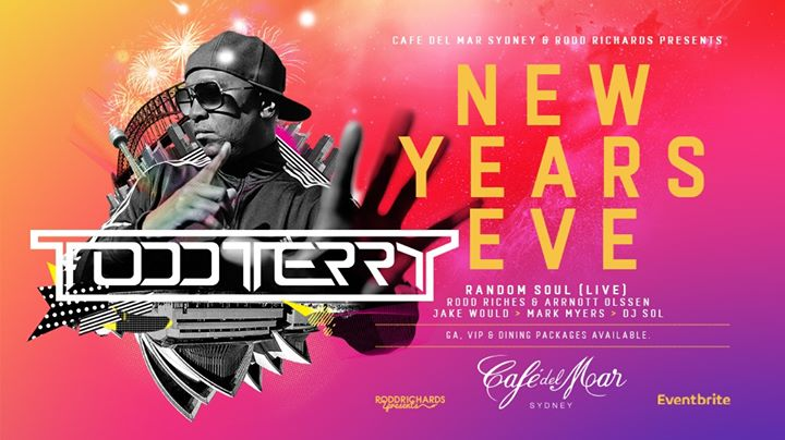 NYE Rooftop Party 2019 ft. Todd Terry