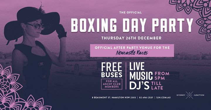 The Official Boxing Day Party!
