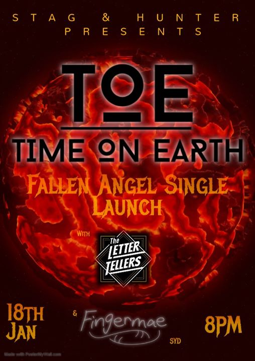 TOE Single Launch With Fingermae & The Letter Tellers
