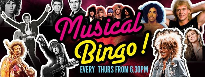 Musical Bingo Night