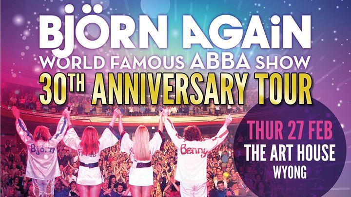 Bjorn Again 30th Anniversary Tour