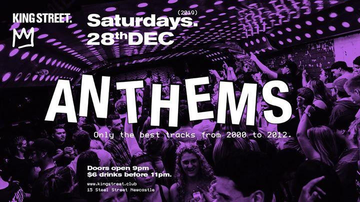 Anthems • Last Saturday of 2019