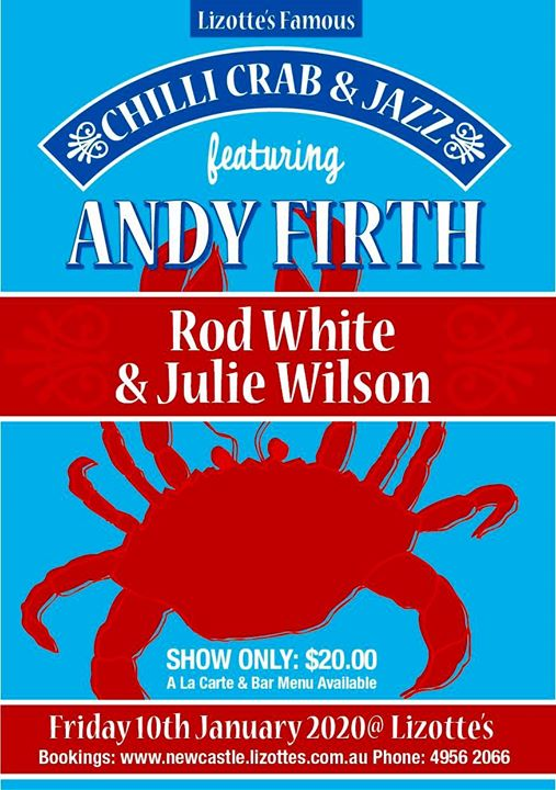 Brian's Jazz Chilli Crab feat Andy Firth Rod White Julie Wilson