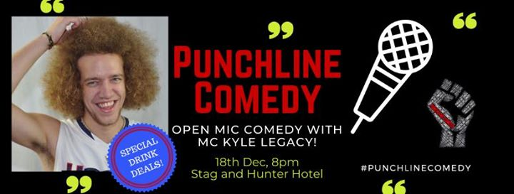 Punchline Comedy Open Mic with Kyle Legacy