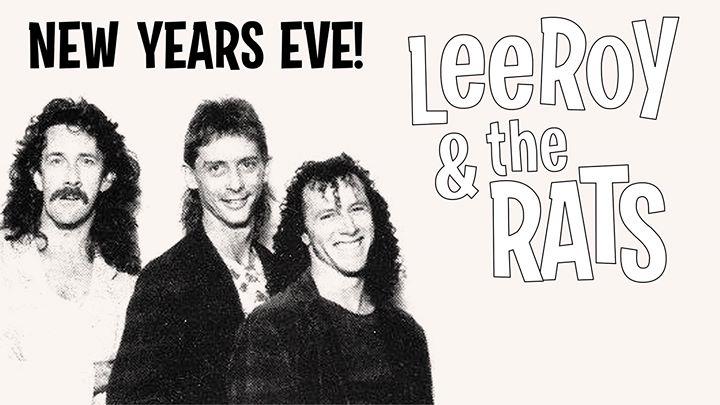 NYE Entertainment: Leeroy & the Rats