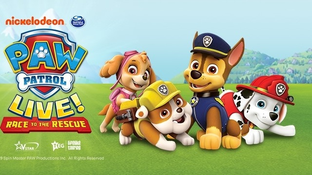 """PAW Patrol Live! """"Race to the Rescue"""" Newcastle"""