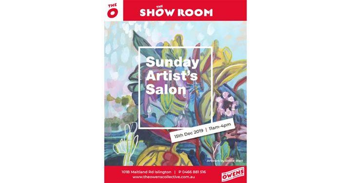 Sunday Artist's Salon
