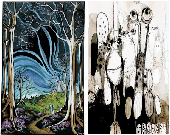 The Night of: An exhibiton by Soren Hillis & Marguerite Tierney