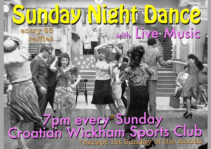 Sunday Night Dance – with Live Music