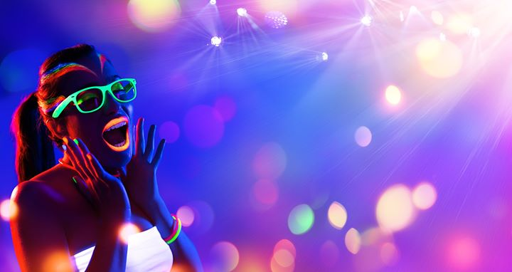 UV Glow Kids Dance Party