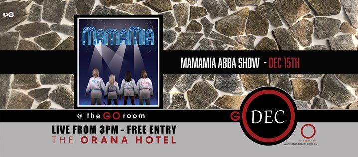 MamaMia Abba Show at the Orana