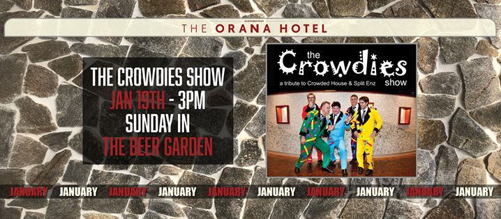 The Crowdies at the Orana Hotel