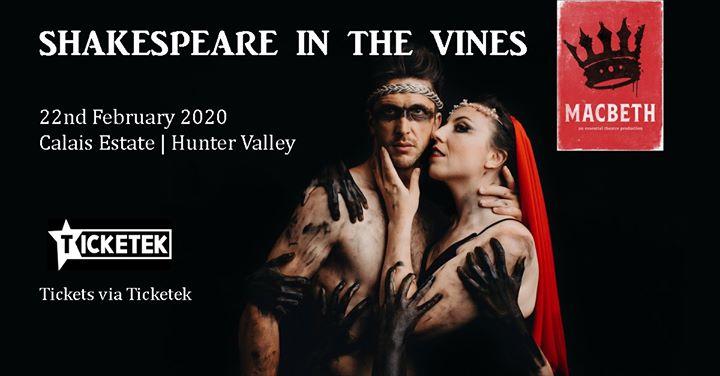 Shakespeare in the Vines – Macbeth
