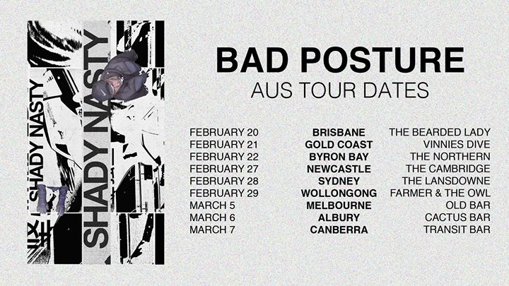 Shady Nasty – Bad Posture EP Tour – Newcastle